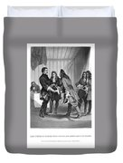 Charles Xii And Stanislas I Duvet Cover