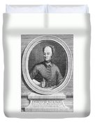 Charles Xii Of Sweden Duvet Cover