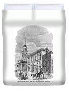 Charleston, 1857 Duvet Cover
