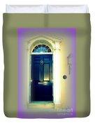 Charleston Door 6 Duvet Cover