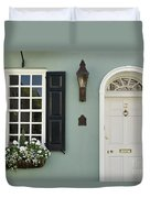 Charleston Doorway - D006767 Duvet Cover