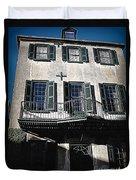 Charleston Houses Duvet Cover