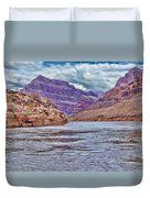 Charting The  Mighty Colorado River Duvet Cover