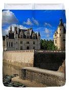 Chateau Chenonceau Loire Valley Duvet Cover