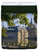 Chateau De Chantilly Duvet Cover