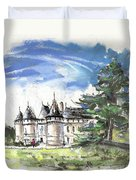 Chateau De Chaumont In France Duvet Cover