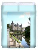 Chateau De Josselin Duvet Cover