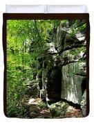 Chatfield Rock Face Duvet Cover