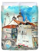 Chaves In Portugal 05 Duvet Cover