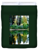 Chena River View Duvet Cover