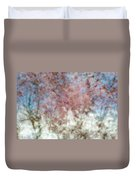 Cherry Blossom Abstract Duvet Cover