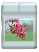 Cherry Blossom Spring Photoart Duvet Cover