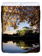 Cherry Blossoms At Dawn Duvet Cover