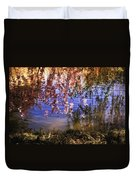 Cherry Blossoms In The Sun - New York City Duvet Cover by Vivienne Gucwa