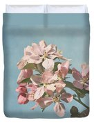 Cherry Blossoms Duvet Cover by Kim Hojnacki