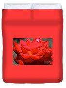 Cherry Red Rose Duvet Cover