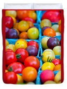 Cherry Tomatoes Duvet Cover