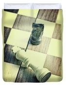 Chess Duvet Cover by Joana Kruse