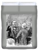 Chester Alan Arthur Duvet Cover