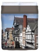 Chester City Skyline Duvet Cover