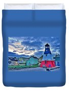 Cheticamp In Cape Breton Nova Scotia Duvet Cover