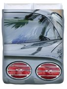 Chevrolet Corvette Tail Light Duvet Cover