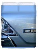 Chevrolet Headlights And Emblem Duvet Cover