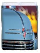 Chevrolet Hood Emblem 2 Duvet Cover