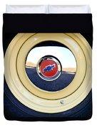 Chevrolet Wheel Emblem Duvet Cover