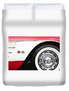 Chevrolette Corvette Sting Ray Convertible Duvet Cover