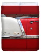Chevy Belair Classic Trim Duvet Cover by Mike McGlothlen