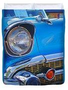 Chevy Headlight Duvet Cover