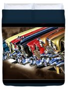Chevy Line Up Duvet Cover