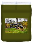 Chew Mail Pouch Painted Duvet Cover