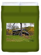 Chew Mail Pouch Duvet Cover