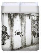 Chiang Mai Graffiti Duvet Cover