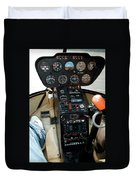 Chicago Airplanes 06 Duvet Cover