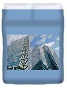 Chicago - City Of Big Shoulders Duvet Cover