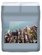 Chicago From Above 2 Duvet Cover