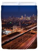 Chicago Illumina Duvet Cover