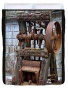 Chicago Iron Works Duvet Cover