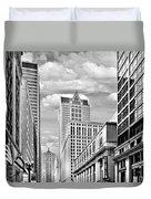 Chicago Lasalle Street Duvet Cover