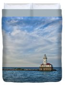 Chicago Lighthouse Duvet Cover