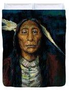 Chief Niwot Duvet Cover