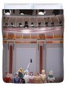 Children On Stage Duvet Cover