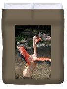 Chilean Flamingo Duvet Cover