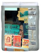 Chinese Bookstore Duvet Cover