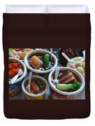 Chinese Food Miniatures 1 Duvet Cover
