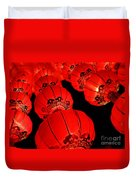 Chinese Lanterns 3 Duvet Cover