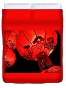 Chinese Lanterns 4 Duvet Cover